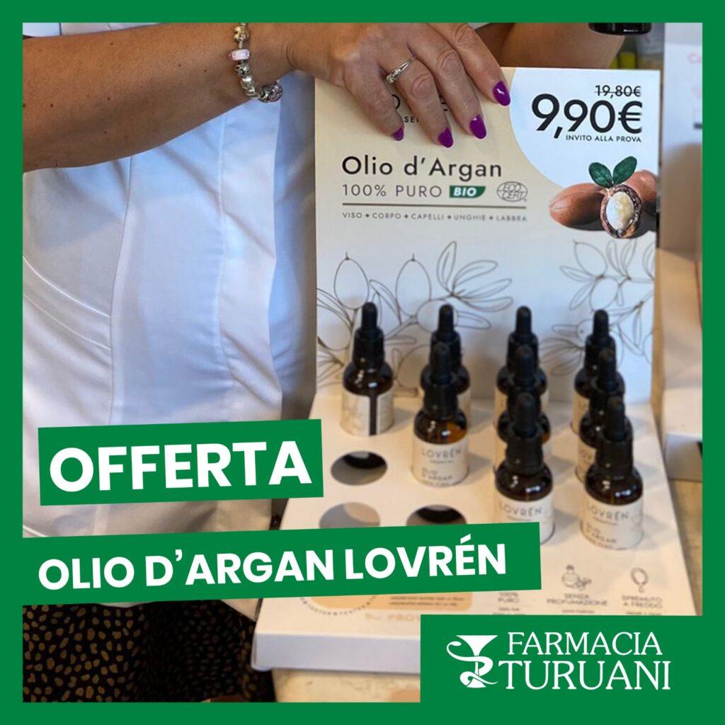 Offerta Olio Argan Lovren